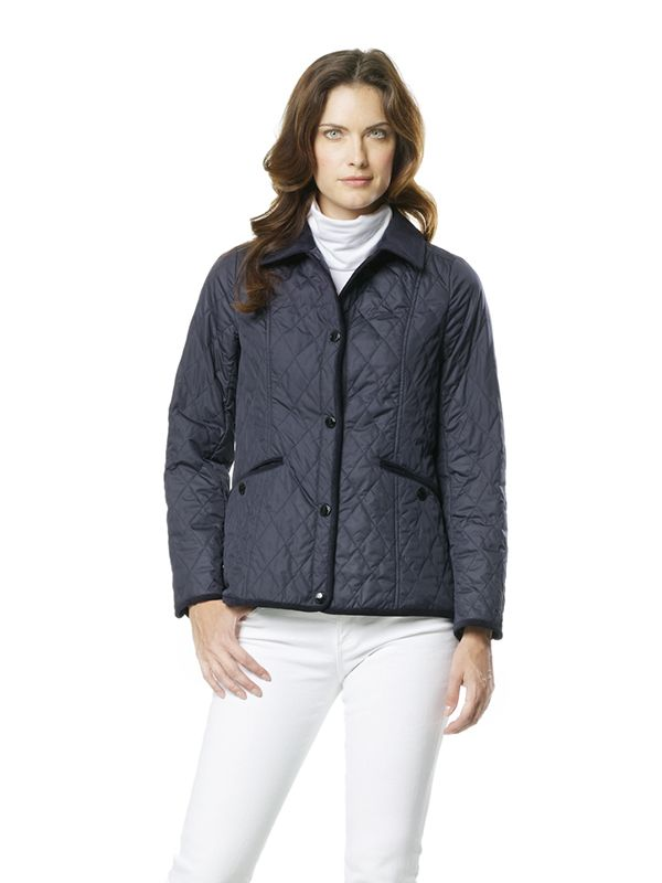 Womens Quilted Jacket: similar style available now in black!