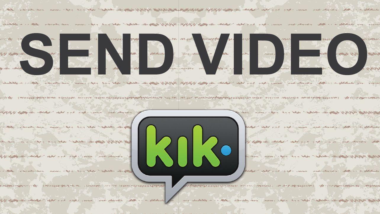 How to send videos on KIK video youtube kik messenger