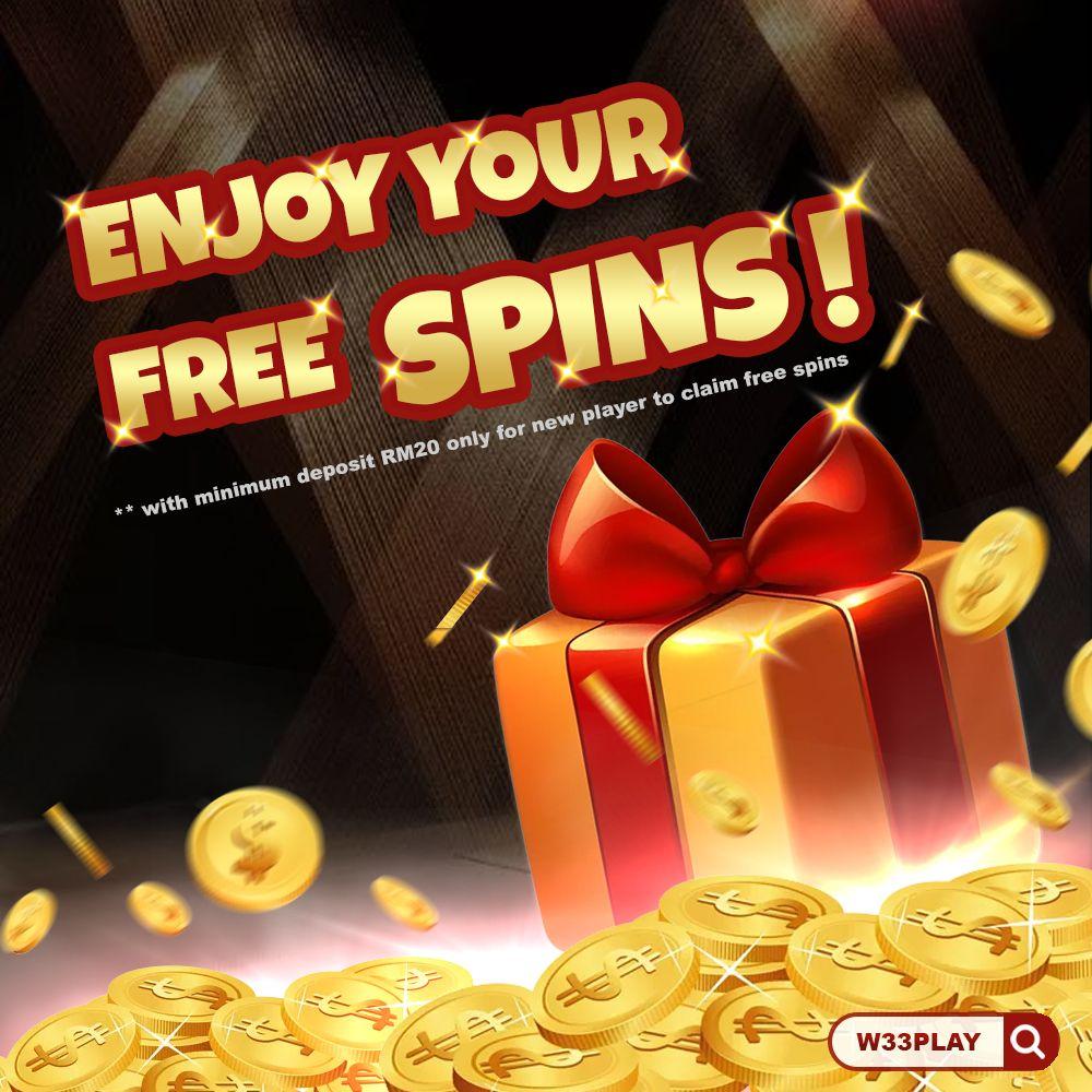 W33play Spins Bonus In 2020