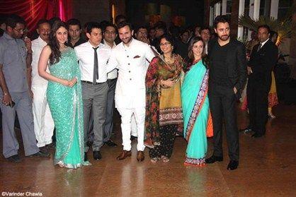 Kareena Kapoor Saif Ali Khan Reception Party Wedding