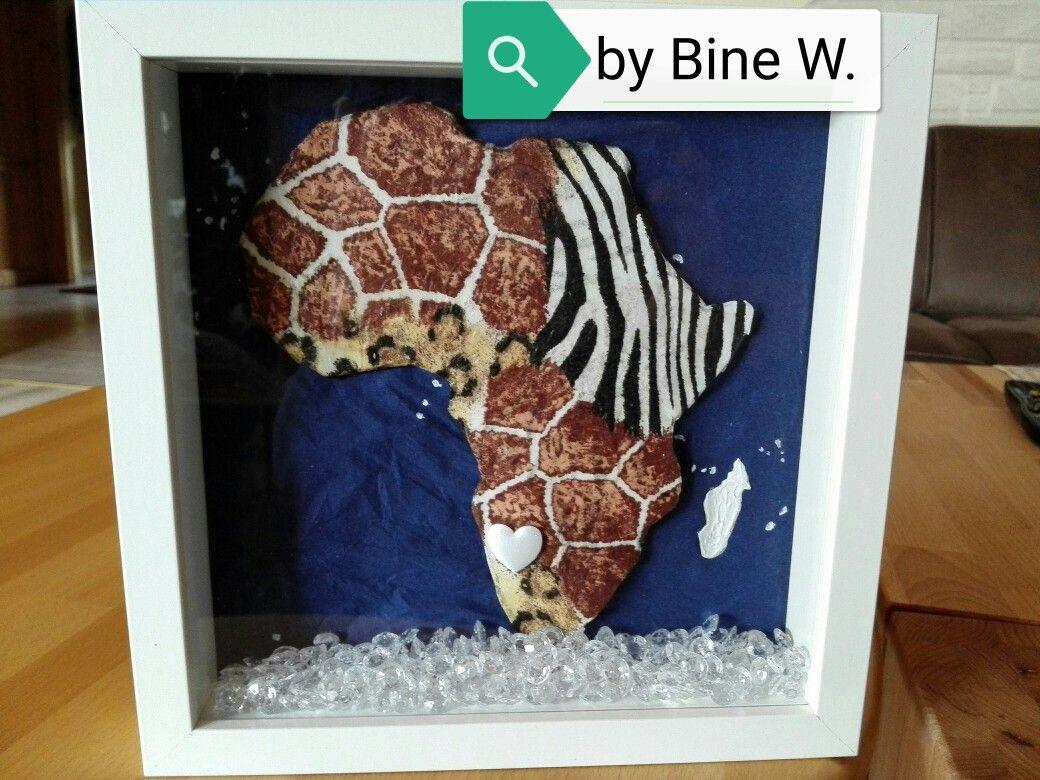 Gutschein Reise Afrika Geldgeschenk Home Decor Decor Frame