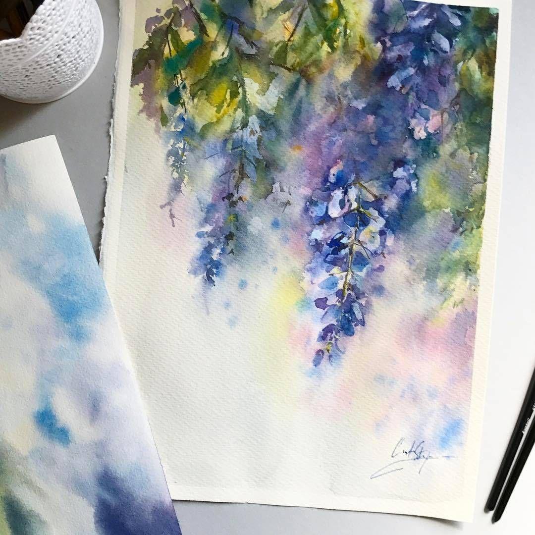 Watercolorist: @canotstoppainting  #waterblog #акварель #aquarelle #painting #drawing #art #artist #artwork #painting #illustration #watercolor #aquarela