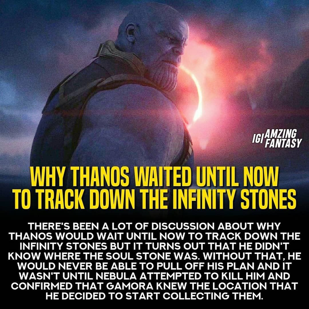 just some infinity war facts that you (probably) didn't know