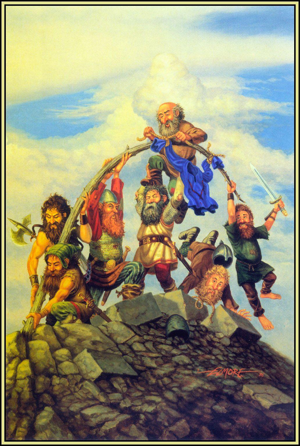 Larry Elmore Dragonlance Cover Art