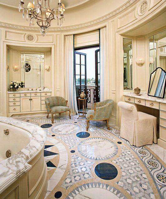 Com varanda Bathrooms for royalty Pinterest Baños lujosos - baos lujosos