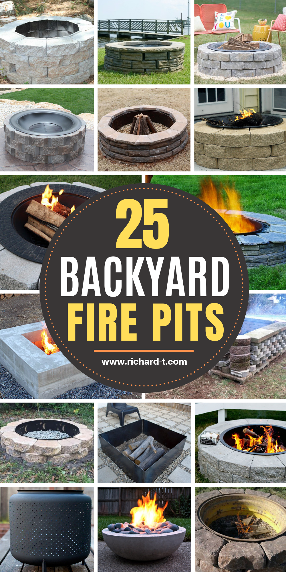 Photo of 25 Best DIY Fire Pits That You Need To Make This Year