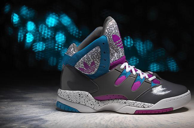Adidas High Tops For Girls 2013 Blue
