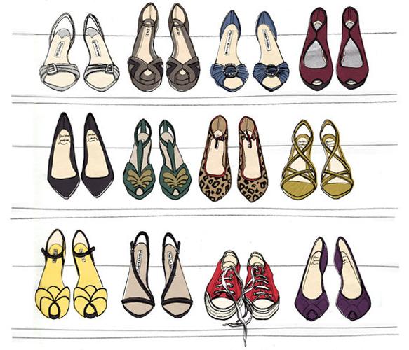 Designer Dream Shoe Print.