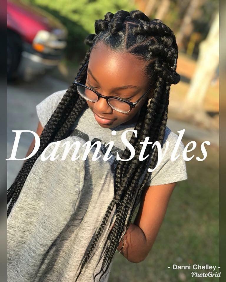 Fabulous Hairstyles Naturalhairstylesforteens Hair Styles Box Braids Hairstyles Stylish Hair