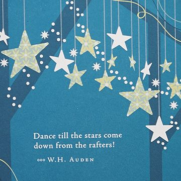"""""""Dance till the stars come down from the rafters!"""" - W.H. Auden view 4"""