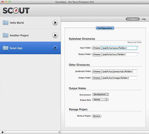 Scout app screenshot