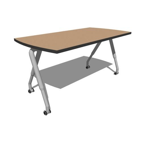 Rolling Office Table
