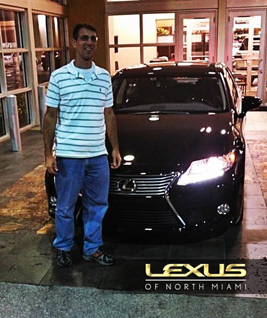 Congrats to Assaf Tzur on his new 2014 Lexus ES 350