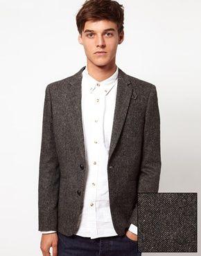 ASOS Slim Fit Tweed Blazer | My Style | Pinterest | ASOS, Tweed ...