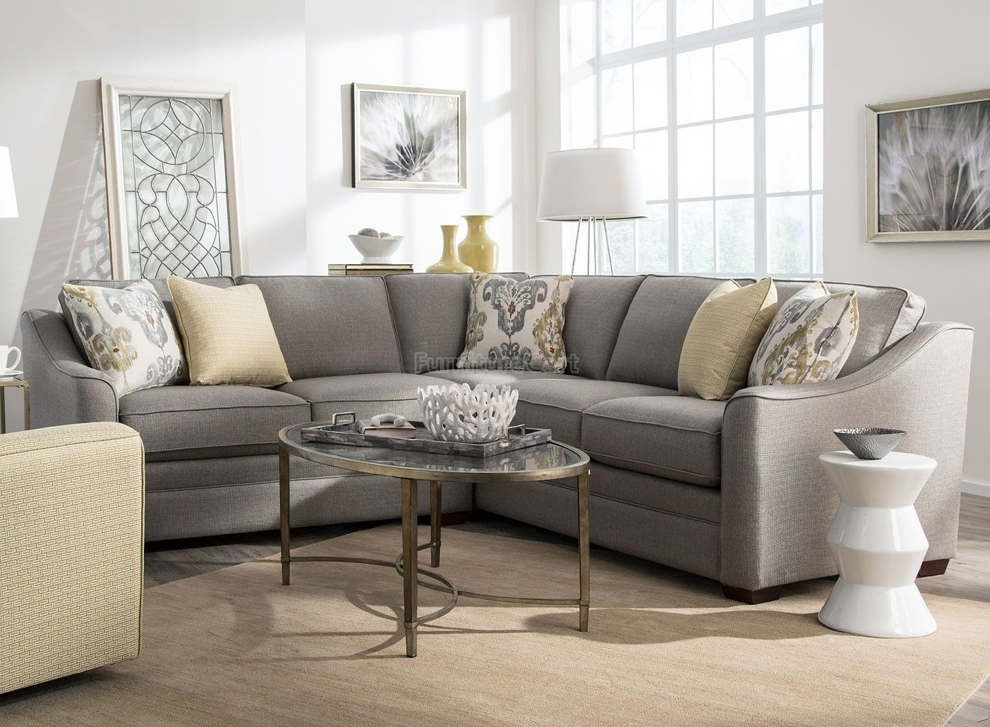 Custom Sectional Sofa Chicago Patio Sets Canada Sugarshack Right Facing Living Rooms
