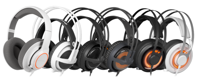 The Steelseries Siberia Headset Line Is All New Relatively Different Steelseries Headset Gaming Headset