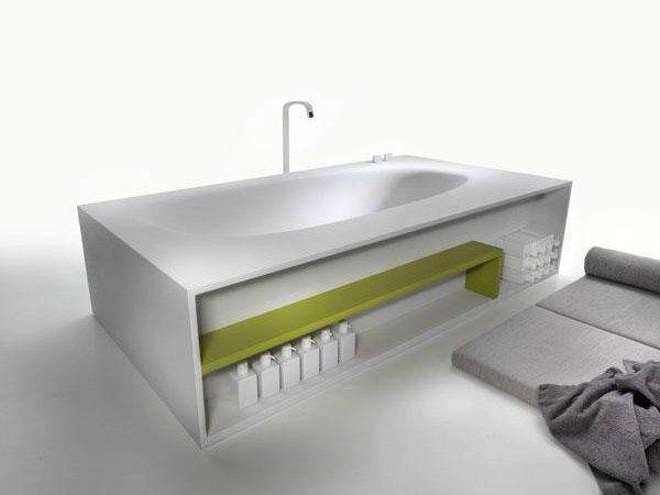 Vasca Da Bagno Centro Stanza : Salone del mobile le tre nuove vasche da bagno di ceramica