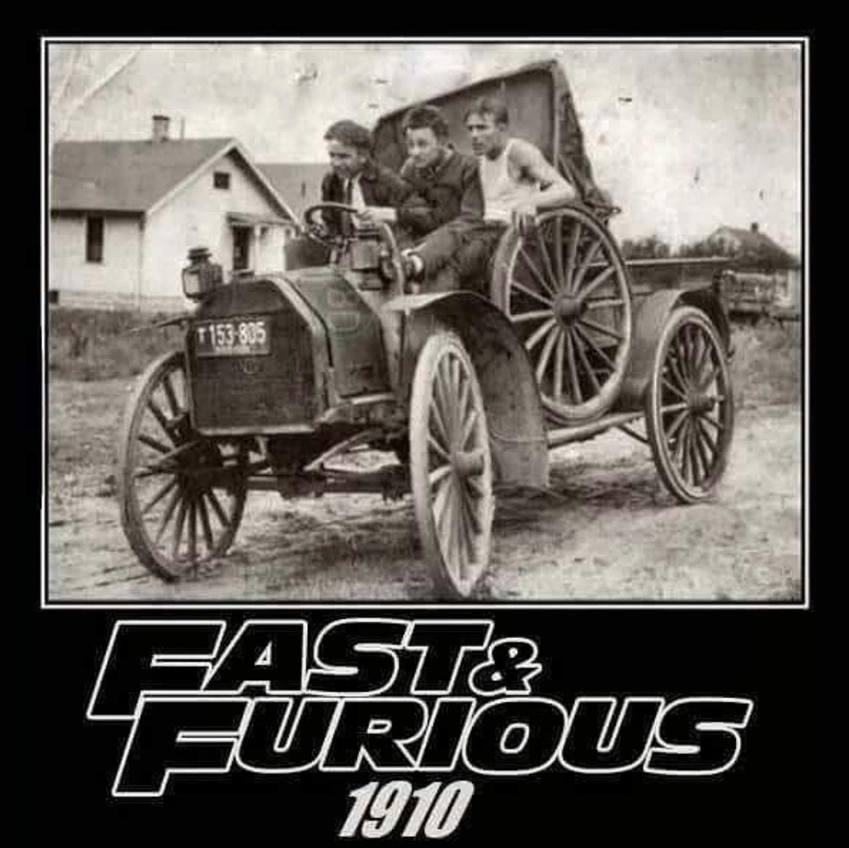 Fast n furious 1900\'s | Mechanic humor | Pinterest | Car humor ...