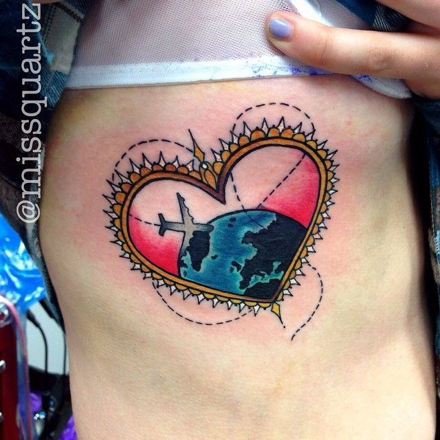 20 Awesome Travel Tattoo Ideas To Help You Express Your