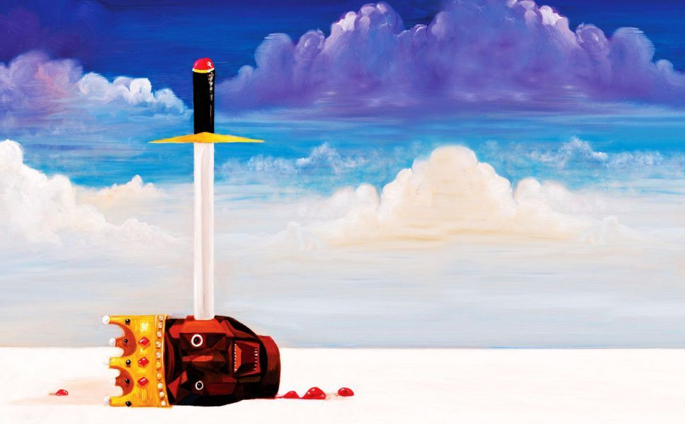 Kanye West My Beautiful Dark Twisted Fantasy HD Wallpaper