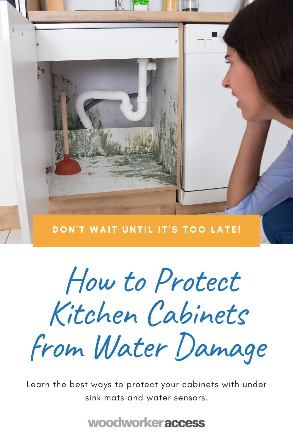 kitchen cabinets from water damage