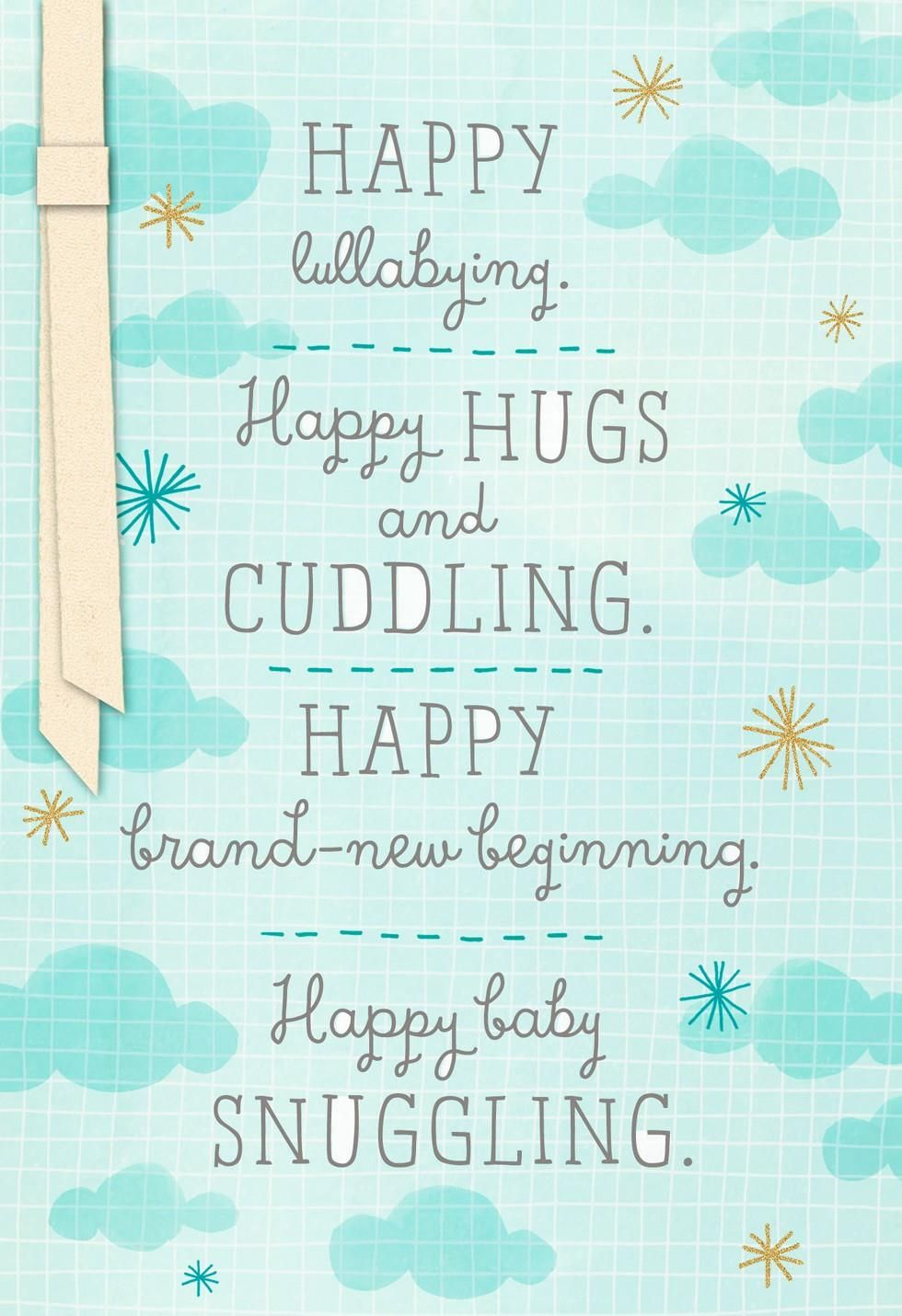 Share Warm Wishes To New Parents And Welcome Their New
