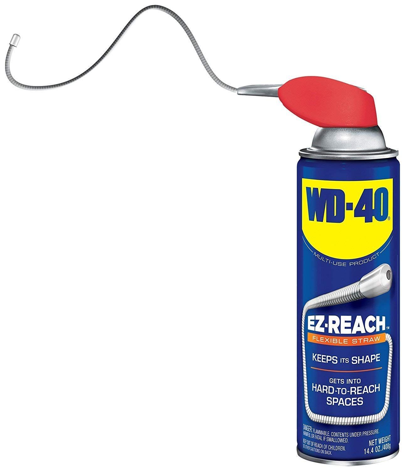 Wd 40 Multi Use Product Multi Purpose Lubricant With Ez Reach Flexible Straw 14 4 Oz Autosneed Com Industrial Scientific Wd 40 Spray Can Tools