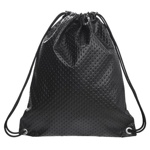 71f6d23ee9 Stylish Drawstring Bag - Black with Dots