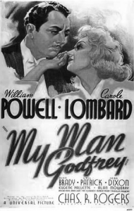 My Man Godfrey Practically Perfect Movie Posters Old Movies Black And White Movie