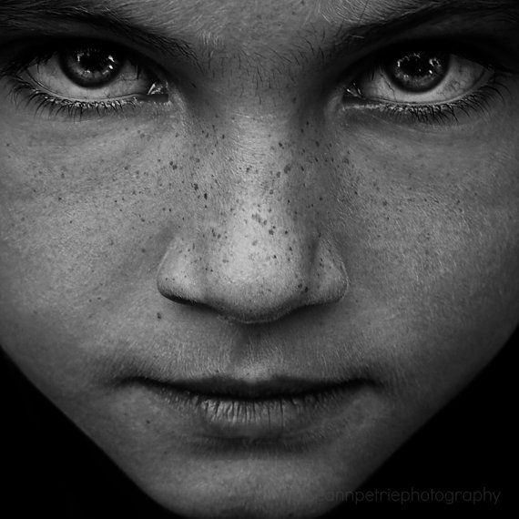 """See Me, 8x8"""", Portrait, Child, Black and White, Dark, Eyes, Face, Sublime, Emotive, Limited Edition, 7/100, Fine Art Photography, Home Decor..."""