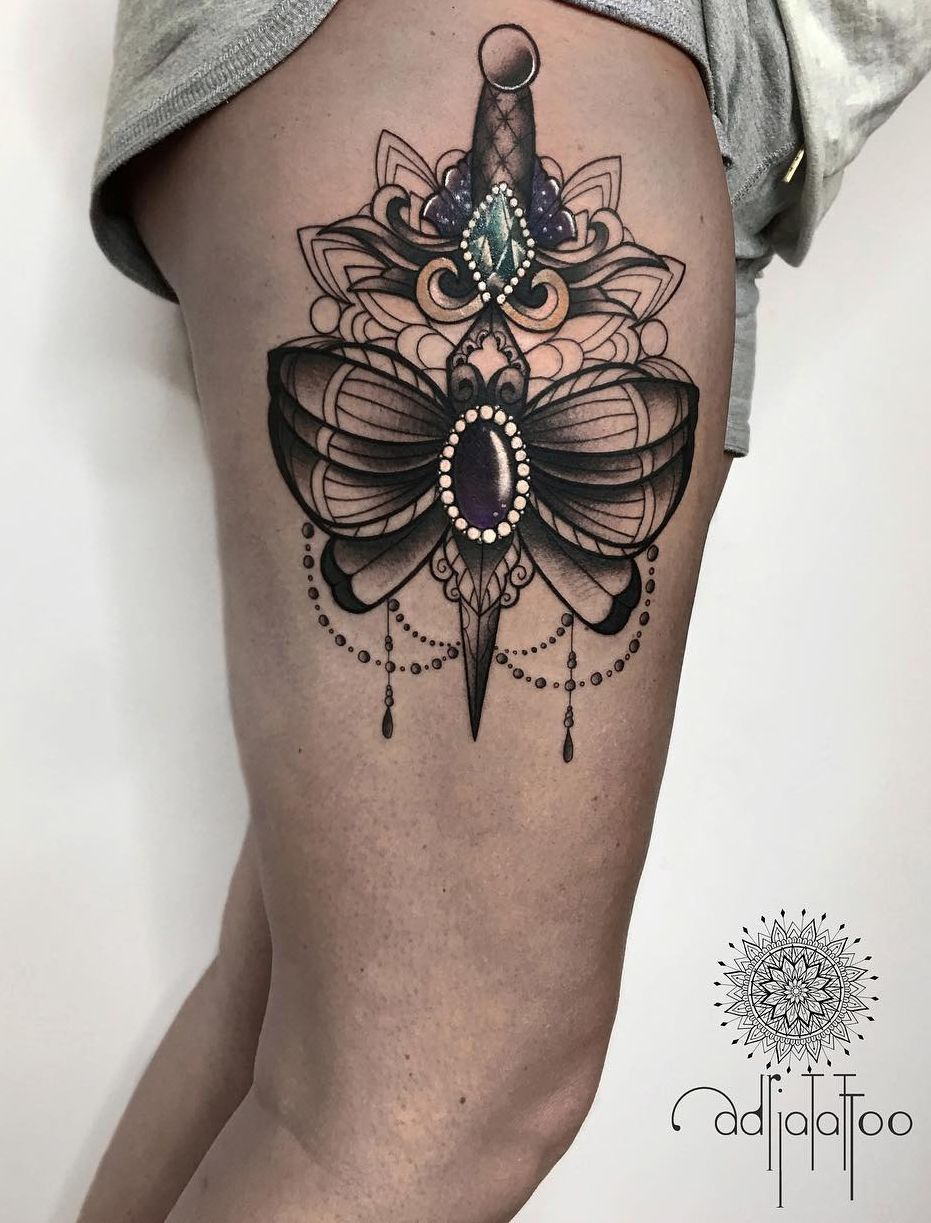 Exquisite Ornamental Tattoos By Adrianna Sak Tattoo Models