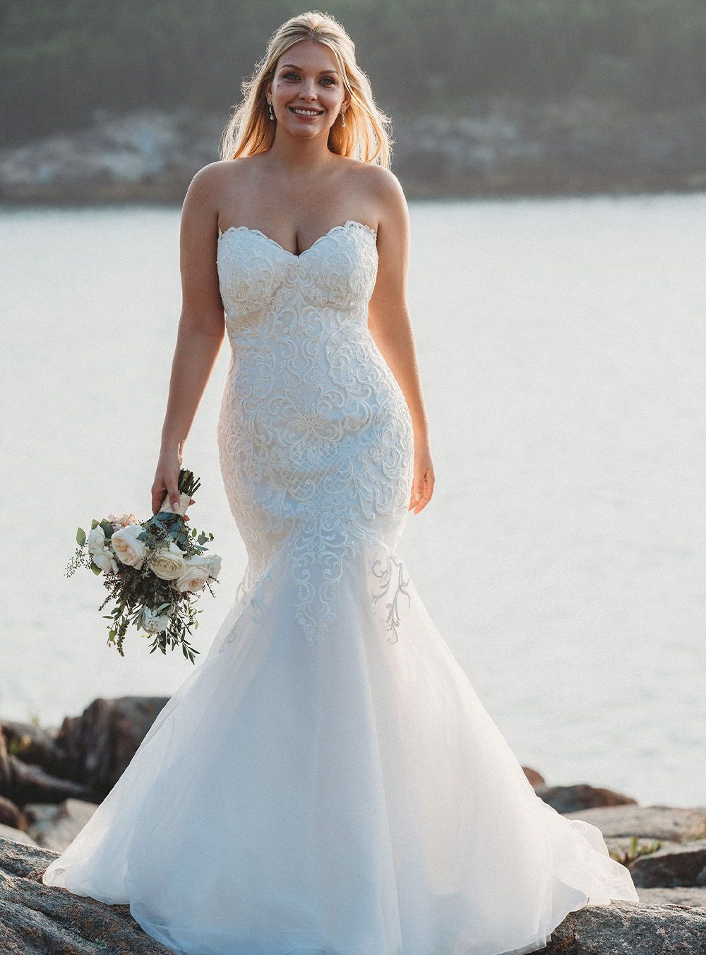 Bridal in 2020 Allure bridal, Plus size wedding gowns