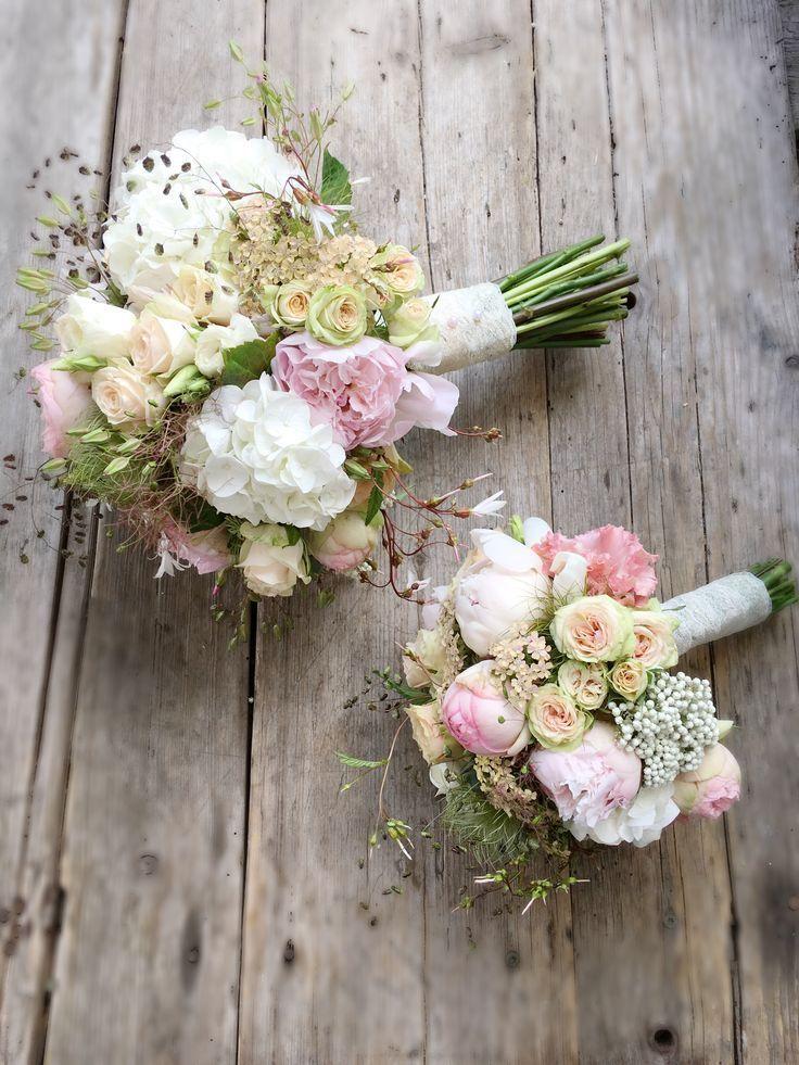 Brautstrauß vintage, pastell, romantisch – Pinterest