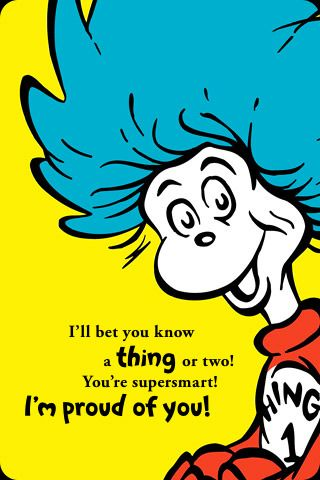 Dr Seuss Quote | DIY Dr. Seuss/free printables/party ideas | Dr