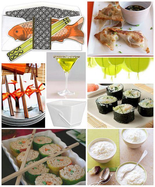 Sushi Party, Sushi, Party