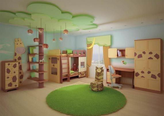 Zoo Bedroom Ideas Just For Kids Home Interior Design Children S Idea