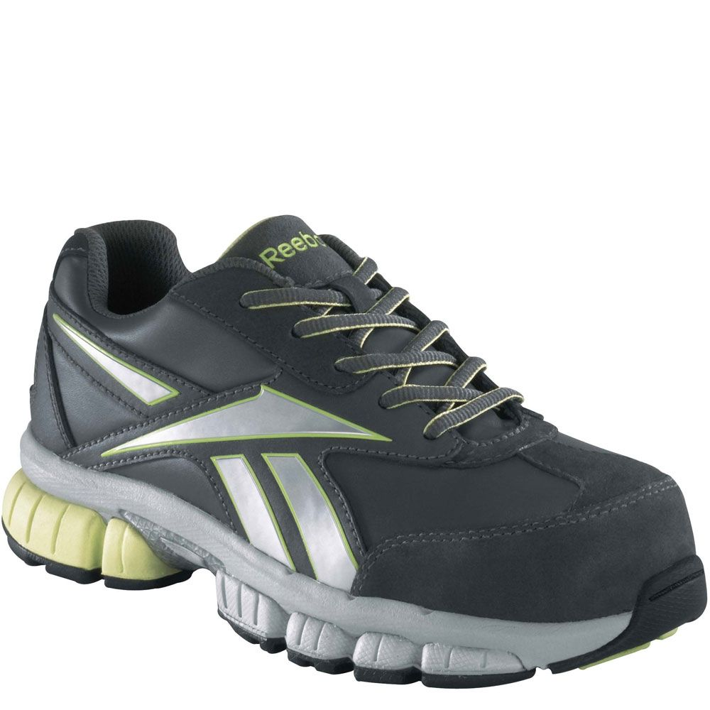 7f82784e1ee RB442 Reebok Women s Cross Trainer Safety Shoes - Grey