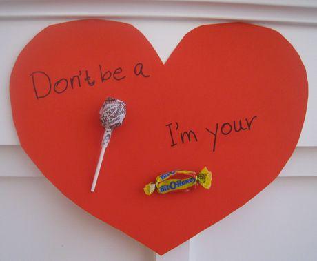 Dont be a Sucker Im your BitOHoney – Candy Valentine Card