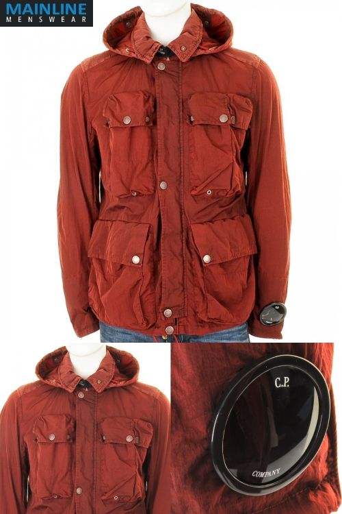 The amazing CP Company Goggle Jacket in deep burgundy red. This jacket is  beautiful 846e17a52