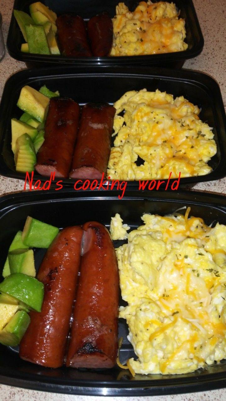 🍒🍒KETO BREAKFAST🍒🍒 | Cheesy scrambled eggs, Cooking ...