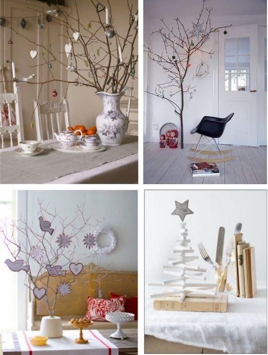 świąteczne Gałązki Inspiracje Diy Home Decor Pomysły Na