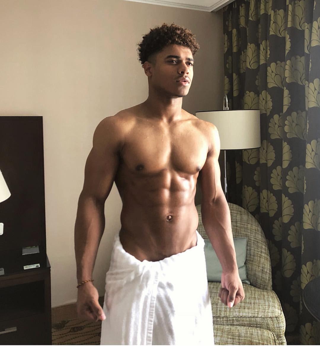 Sexy black boy naked — photo 12