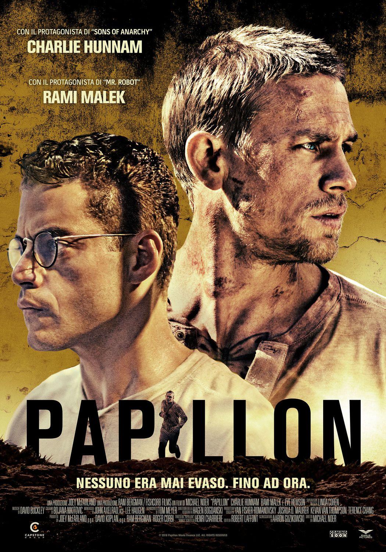 Papillon New Film Poster Https Teaser Trailer Com Movie Papillon Papillon Papillonmovie Char Movie Posters Full Movies Online Free Free Movies Online