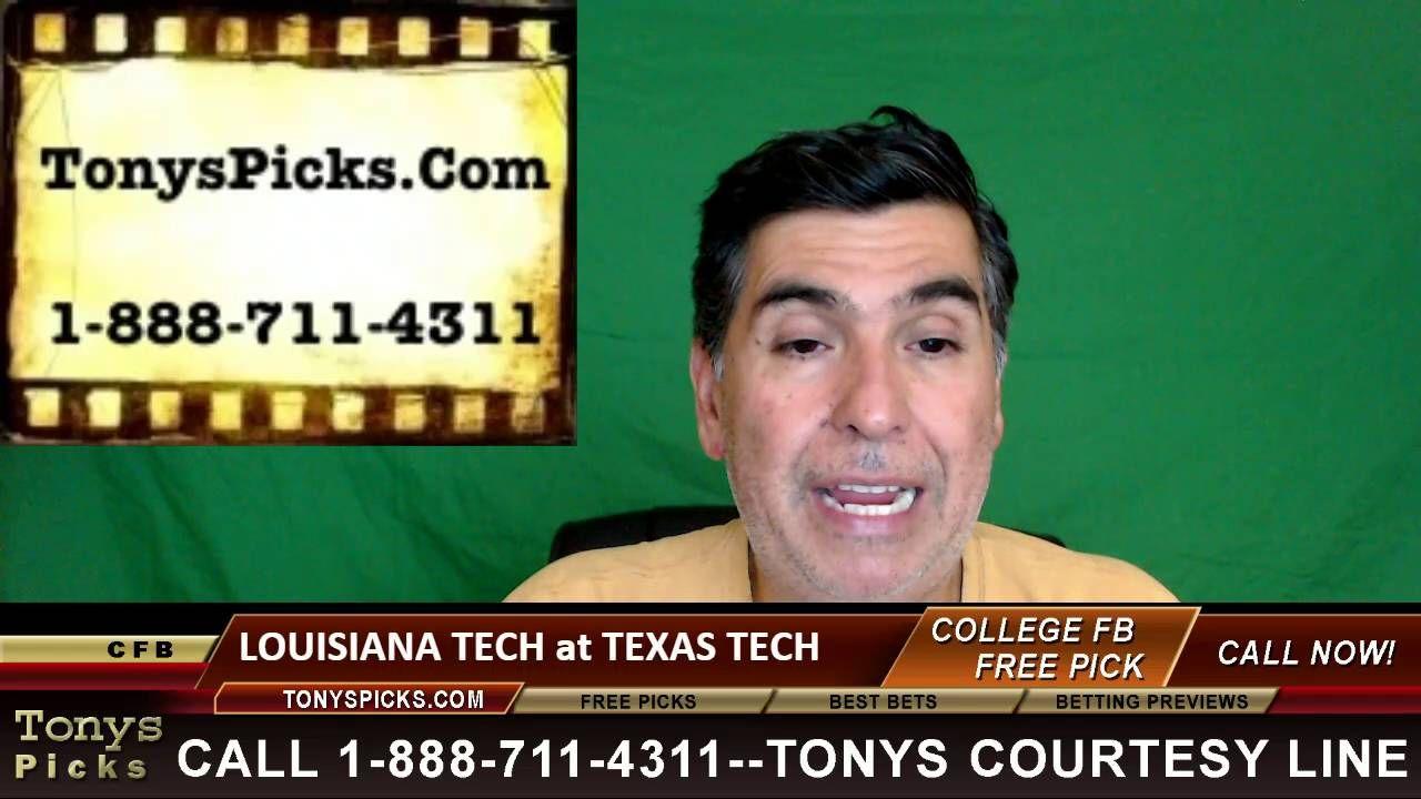 Louisiana Tech Bulldogs vs. Texas Tech Red Raiders Pick