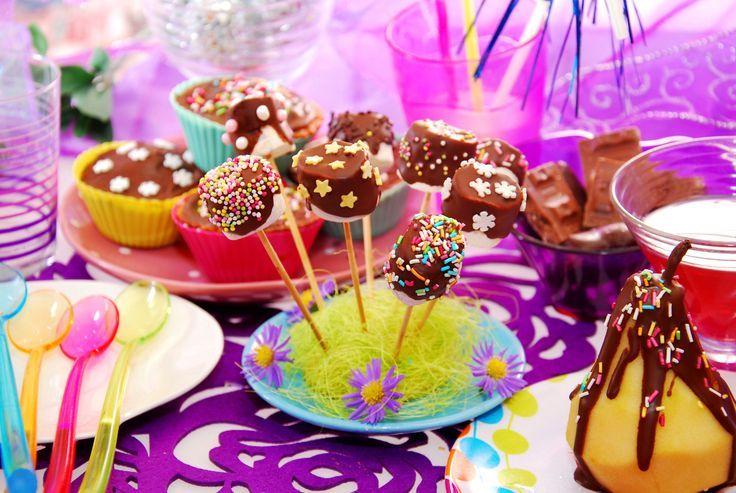 ideas y cosas para tus fiestas infantiles nubes de azucar