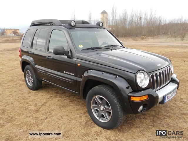 2004 chrysler jeep cherokee 2 8 crd renegade off road. Black Bedroom Furniture Sets. Home Design Ideas