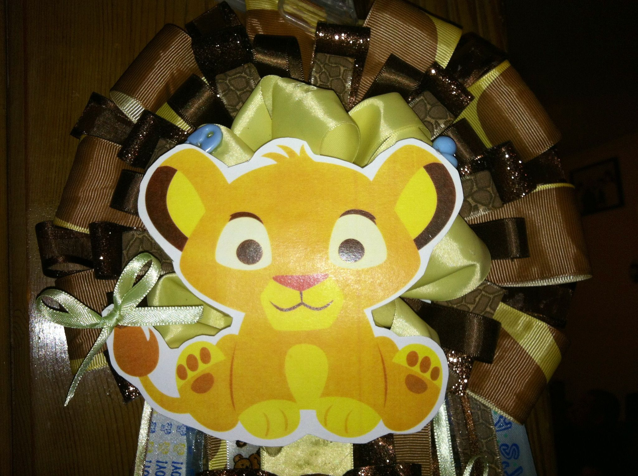 Our Lion King Simba Baby Shower Mum Simba Baby Shower