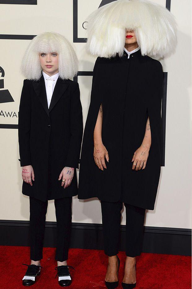 Grammys-Sia and dancer Maddie Ziegler | Fashion, Grammy, Pop ...