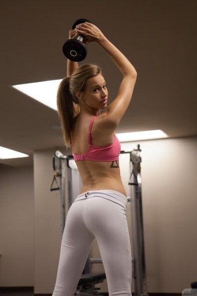 Gym pants fuck