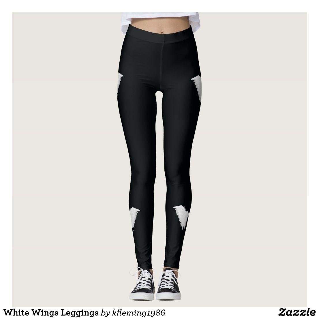White Wings Leggings